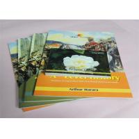 Quality Commercial Offset Printed Softcover Book Full Color / One Color Case Bound for sale