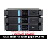 Quality High Stability 4x1300W Switching Power Amplifier FP 10000Q With Neutrik Connectors for sale
