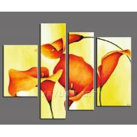 Quality flower painting wall art room decor for sale