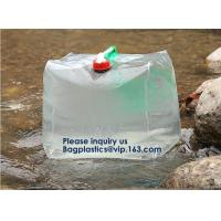 China Portable Tank Bag,Drinking Water Bag Water Bags Multicolor Green Portable Food Safety Grade PVC Foldable Water Bags with on sale