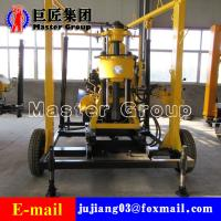 Quality XYX-130 Wheel Type Hydraulic water well drilling machine rotary drilling rig /small bore well drilling machine for sale