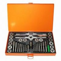 China 40-piece Tap and Die Set, Metric/Imperial SAE on sale