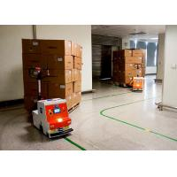 Buy AGV Automated Guided Robot , Automated Guided Tugger High Guiding Accuracy at wholesale prices