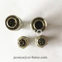 Quality push pull self-locking 4pin Hirose solder pin electronic connectors for sale