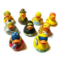 China Children Gifts Bath Toy Baby Rubber Duck Eco - Friendly No Battery on sale