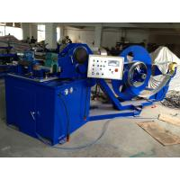 Quality Spiral Tube Forming Machine with Forming Speed of 80m / min , Mitsubishi PLC for sale