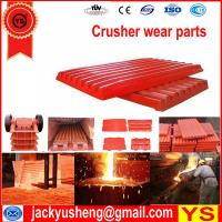 Quality used crusher plates, used crusher, used crusher for sale for sale