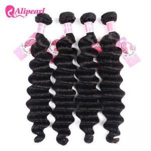 Ali Pearl Loose Deep Wave 8A Virgin Human Hair Weave Bundle Deals