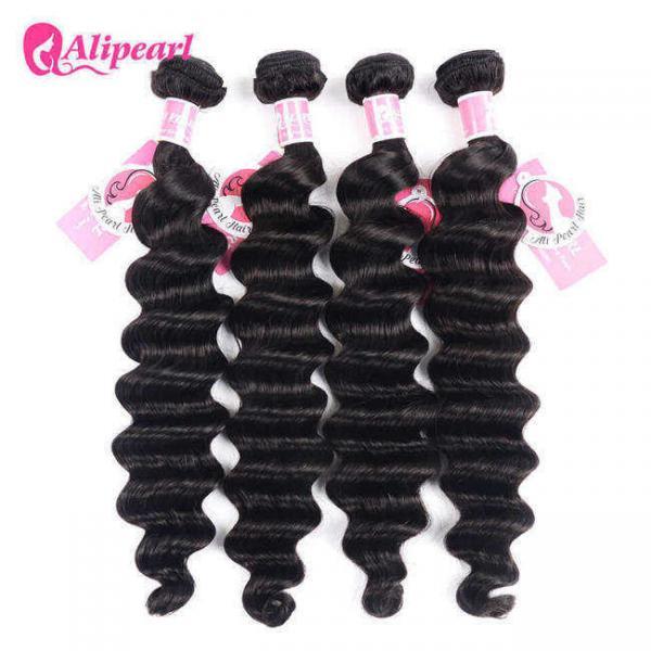 Buy Ali Pearl Loose Deep Wave 8A Virgin Human Hair Weave Bundle Deals at wholesale prices