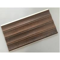 Quality 25cm × 8mm Four Arcs PVC Wooden Plastic Laminate Panels Customized Length for sale