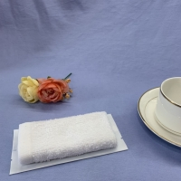Quality 100% Cotton Antiseptic Airline Wet Towel for sale