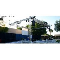 Quality Outdoor Concert / Party / Wedding Stage DJ Truss For Speakers for sale