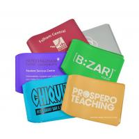 Quality Elegant Full Color Print Plastic Travel Card Holder Artificial Leather Card Wallet for sale