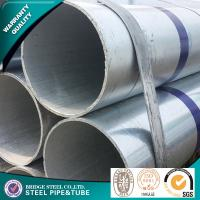 Quality ASTM A53 Round Galvanized Mild Steel Tube SS400 STK400 STK500 Large Diameter for sale