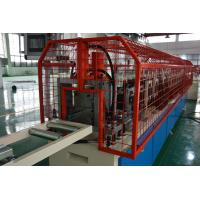 China 0.27-1mm Galvanized Steel Stud Roll Forming Machine With PLC Control on sale