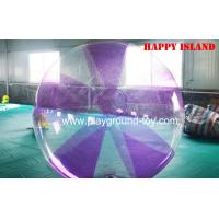 Quality Funny Inflatable Sports Games ,  Inflatable Water Walking Ball 0.8mm PVC / TPU for sale