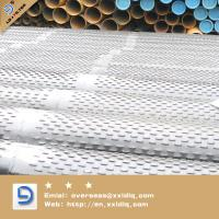 Buy cheap bridge slotted oil screen pipe from chinese factory from wholesalers