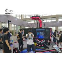 Quality 56 Inch Display VR Shooting Simulator / 9D Virtual Reality Game Machine for sale