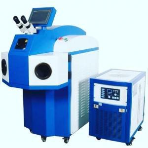 China 200W Spot Desktop  Laser Welding Machine / Gold Silver Jewelry Laser Welder on sale