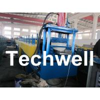 Quality PLC Controlled Top Hat Channel Profile Cold Roll Forming Machine for sale