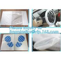 Buy cheap Disposable plastic car seat cover universal, Industrial Disposable Wipes from wholesalers