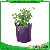 Quality Hanging Grow Bags Garden Plant Accessories , Garden Grow Bags For Plants for sale