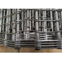 Quality Industrial Heavy Duty Conveyor Chain Belt Stainless Steel 304 Corrosion Resistant for sale