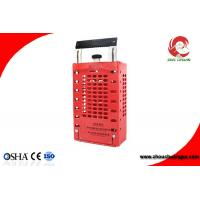 Quality Appearance Patent Portable Steel Plate Steel Safety Group Lockout Box/Kit ZC-X03 for sale