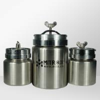 Quality Horizontal Stainless Steel Ball Mill Grinding Jar For Roll Ball Mill / Pot Mill for sale