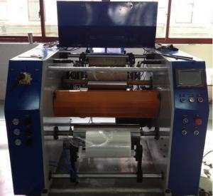 Quality PLC Digital Control Stretch Film Rewinding Machine For Industrial Stretch Film Rolls for sale