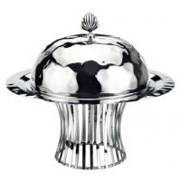 Buy cheap SCC B-103 Round Stainless Steel Riser Display Stand with Dome & Plate from wholesalers