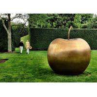 Buy cheap Contemporary Garden Decoration Sculpture Large Bronze Apple Sculpture from wholesalers