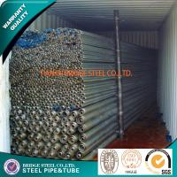 Buy BS 1387 ASTM A53 Structural Steel Tubes SCH160 SCH XXS Beveled / Plain at wholesale prices