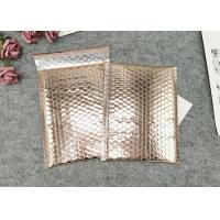 Quality Waterproof Metallic Foil  Bubble Package Envelope / Glamour Bubble Mailers Custom Logo for sale