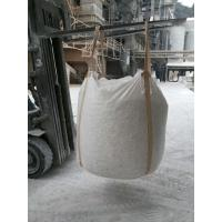China Plastic FIBC Bulk Bags 1250kgs Loading Weight Spout Bottom For Hydrate Lime on sale
