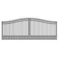 Quality No Rust Aluminum swing gate park gate metal gate for sale