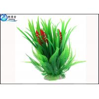 Quality Simulation Rice Flower Plastic Tall Artificial Aquarium Plants Wholesale for Decorate Fish Tank for sale