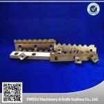 Quality HRC 56-58 Plastic Cutting Blade / Industrial Shredder Blades Small Thermal Deformation for sale