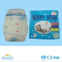 Quality Bunny Hugs brand baby diaper hot selling in Nigeria and Ghana with high quality and strong absorbecy for sale