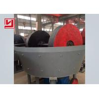 China High Performance Iron Ore Dressing Equipment Wet Pan Mill For Gold Grinding on sale