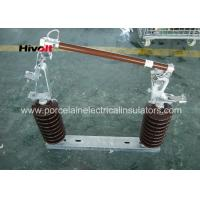 Buy cheap 46KV Porcelain Dropout Fuse Cutout Brown Color Conventional Type from wholesalers
