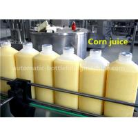 Quality 8-8-3 Corn Juice Bottle Filling Machine 1.5L HDPE Bottle With Aluminum Foil Sealing for sale