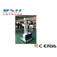 Quality Fly Type Fiber Laser Marking And Engraving Machine / Laser Printing Equipment for sale