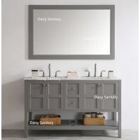 Buy cheap Multiple Color Option American Style Bathroom Vanity Units Assemble Easily from wholesalers