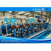 Quality Friction Saw Precision Tube Mill Galvanised Coil Automatic Control 80m / Min Running for sale