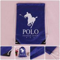 Quality Cheap Custom Wholesale Promotion Polyester Drawstring Bag for sale