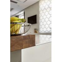 Quality PTEG Home Furniture Modern Kitchen Cabinets Simple Design Environmental Protection for sale