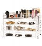 Quality Clear Acrylic Socialite Beauty Organizer for sale