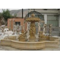 Quality Customized Sculpture Water Fountains Stone Fountains For Garden Marble Material for sale
