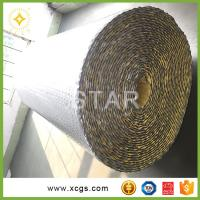 China Double-sided reflective aluminum foil air bubble insulation material for pallet cover on sale